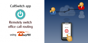 CallSwitch app - remote control from your android phone