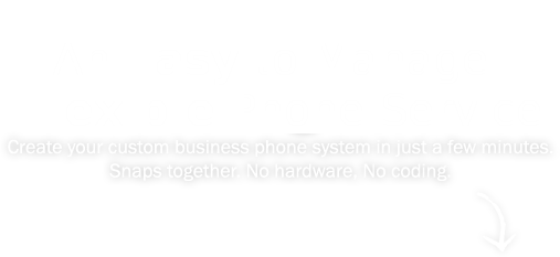 An easy to manage phone service